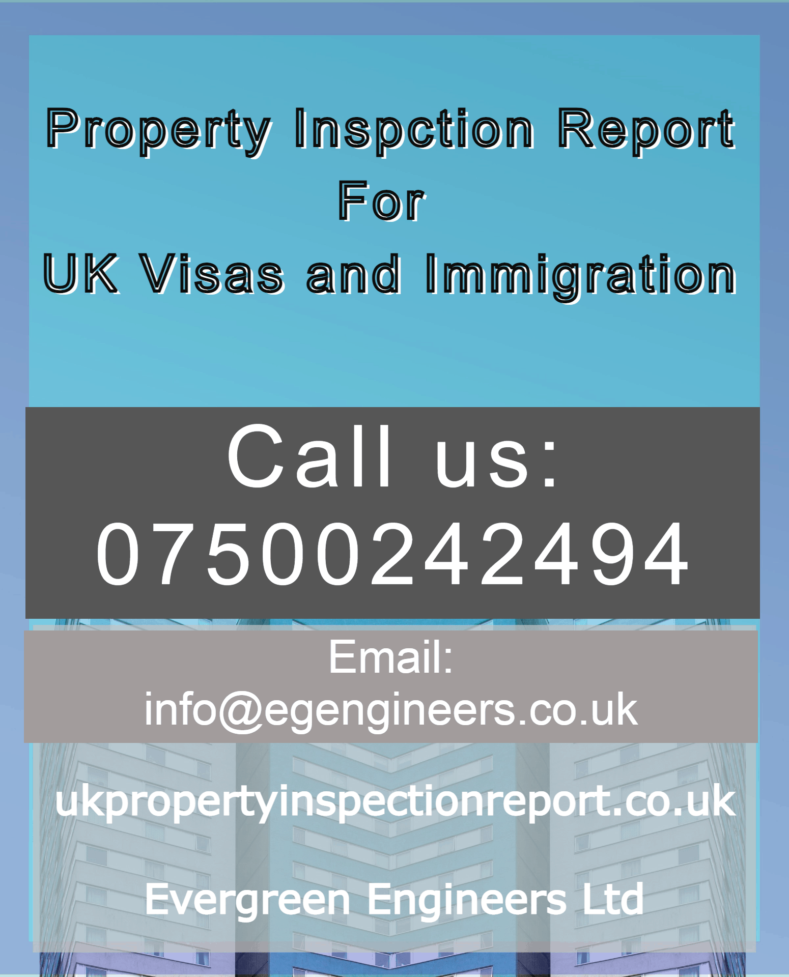 Accommodation Certificate for Immigration Ilford