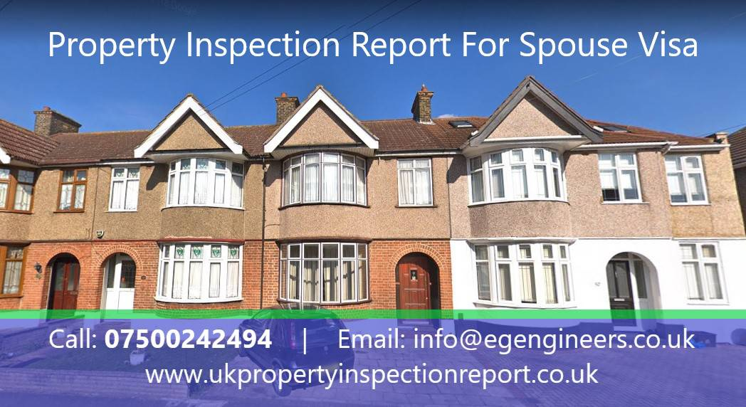 Property Inspection Report for Spouse Visa