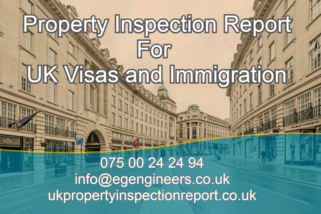 Property Inspection Report for UK Visas and Immigration
